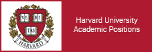 Harvard University Academic Positions